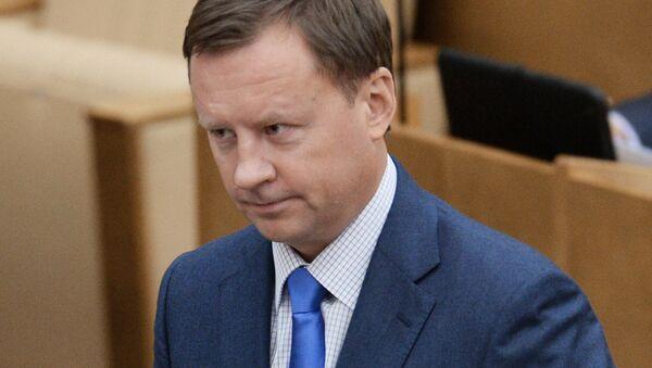 Депутат Денис Вороненков. Архивное фото