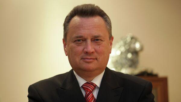 Руководитель Торгово-экономического бюро посольства РФ в Германии, торговый представитель России Андрей Зверев. Архивное фото