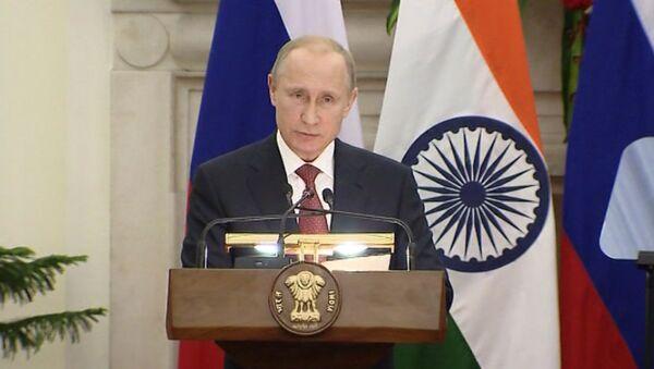 Мы вышли на новый уровень - Путин о российско-индийском сотрудничестве