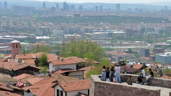 Вид на Анкару с крепости Хисар. Архивное фото