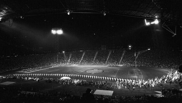 Церемония закрытия XX летних Олимпийских игр в Мюнхене