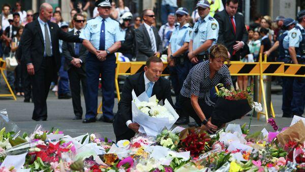 На месте захвата заложников в Сиднее. Архивное фото