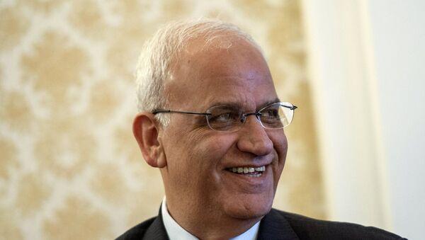 Член исполкома Организации освобождения Палестины Саиб Орейкат. Архивное фото