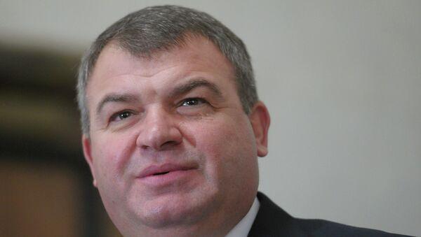 Экс министр обороны Анатолий Сердюков. Архивное фото