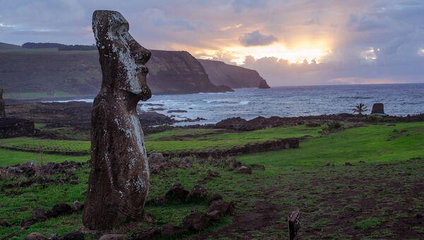 Остров Пасхи. Архивное фото