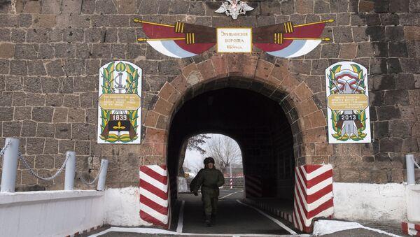 102-я российская военная база в Гюмри. Архивное фото