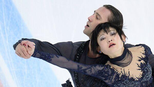 Юко Кавагути и Александр Смирнов. Архивное фото