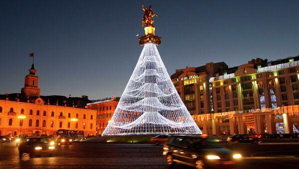 Новый год в Тбилиси. Архивное фото