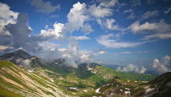 Проект Горная Абхазия. Времена года фотографа Тенгиза Тарбы