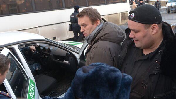 Оглашение приговора братьям Навальным в Замоскворецком суде