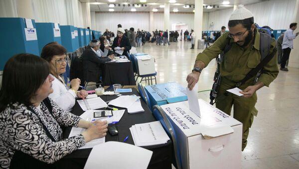 Праймериз правящей партии Израиля Ликуд