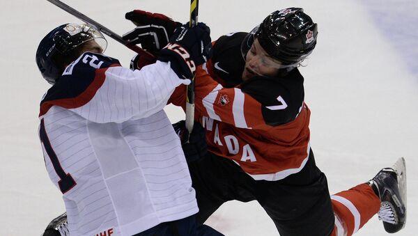 Хоккей. Молодежный ЧМ. Матч Канада - Словакия