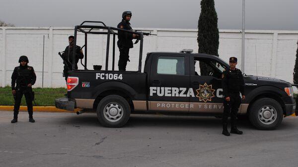 Полиция штата Нуэво-Леон в Мексике