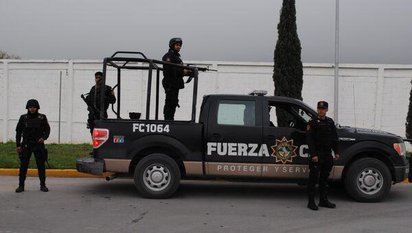 Мексиканские полицейские. Архивное фото