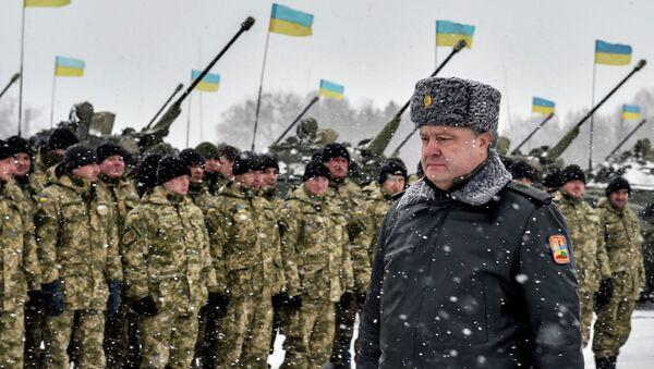 Рабочая поездка президента Украины П.Порошенко. Архивное фото
