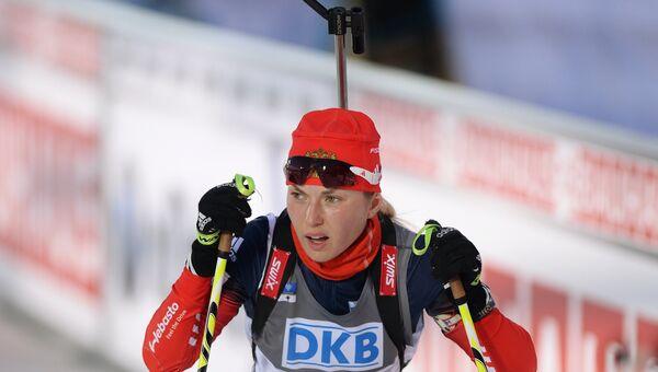 Российская биатлонистка Ольга Якушова. Архивное фото