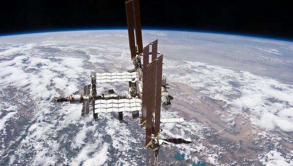 Международная космическая станция. Архивное фото