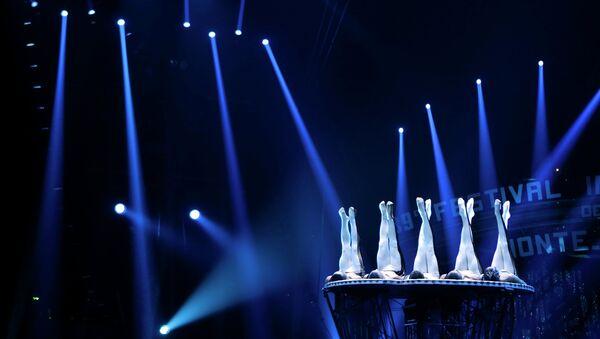 Акробаты из Китая выступают на 39-м Международном цирковом фестивале в Монте-Карло. Архивное фото