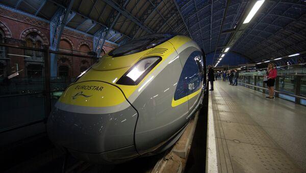 Поезд Eurostar. Архивное фото