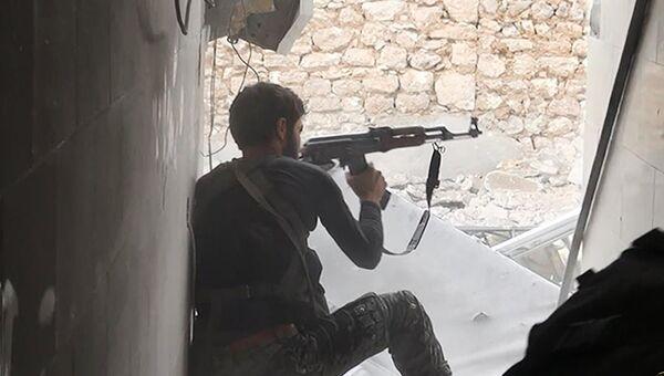Боевик Исламского государства. Архивное фото