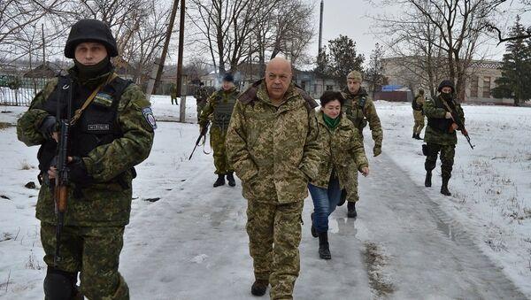 Губернатор Луганской области Геннадий Москаль. Архивное фото