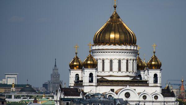 Храм Христа Спасителя в Москве, архивное фото