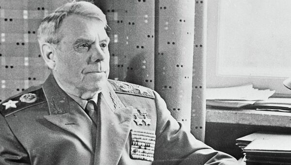 Маршал СССР Александр Михайлович Василевский