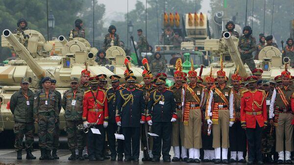 Парад в честь празднования Дня Республики в Индии