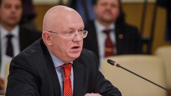 Заместитель министра иностранных дел РФ Василий Небензя. Архивное фото