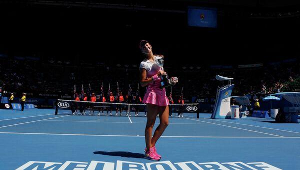 Словацкая теннисистка Тереза Михаликова выиграла юниорский Australian Open