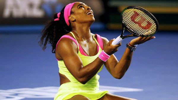 Серена Уильямс победила Марию Шарапову и в шестой раз выиграла Australian Open