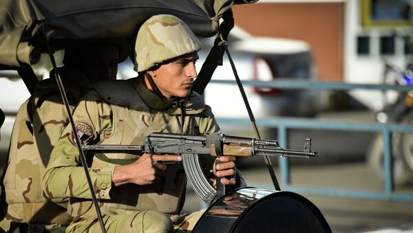 Египетские военные. Архивное фото