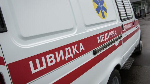 Автомобиль скорой помощи на Украине. Архивное фото