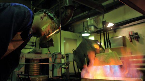 Колымский аффинажный завод в Магадане. Архивное фото