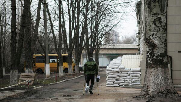 Ополченец ДНР, архивное фото
