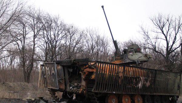 Ситуация в Дебальцево и Углегорске