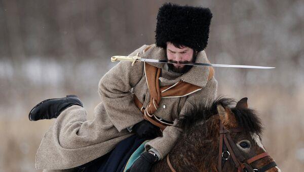 Участник военно-исторической реконструкции событий Отечественной войны 1812 года