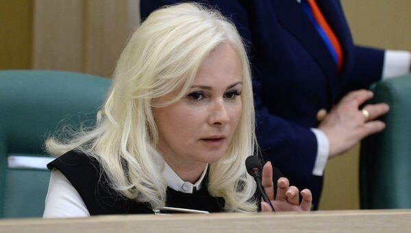 Сенатор от исполнительной власти Республики Крым Ольга Ковитиди. Архивное фото