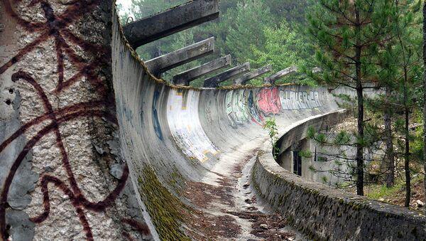 Бобслейная трасса в Сараево