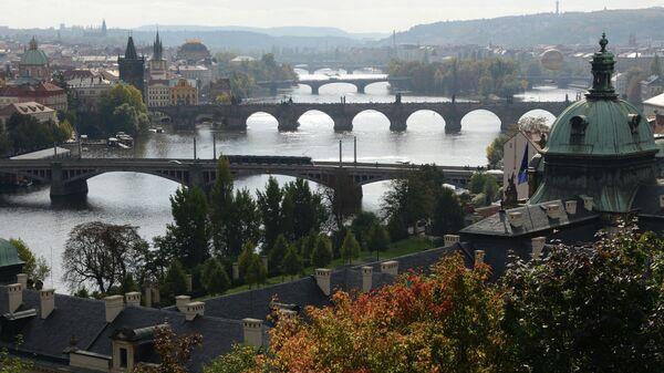 Вид на Прагу со смотровой площадки. Архивное фото