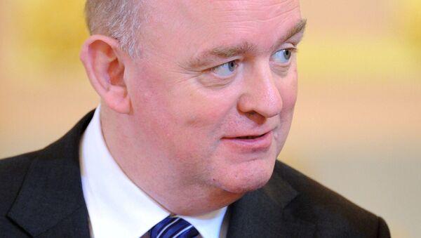 Чрезвычайный и полномочный посол Ирландии в РФ Оун Финбар О'Лири. Архивное фото
