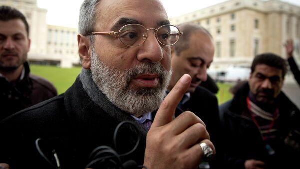 Министр информации Сирийской Арабской Республики Омран Аз-Зоуби. Архивное фото