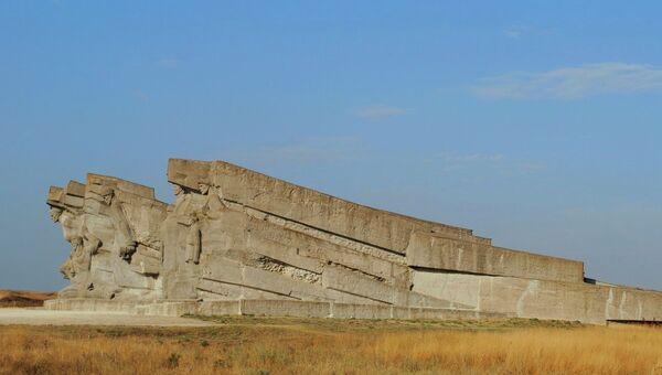 Мемориальный комплекс Героям Аджимушкая. Архивное фото