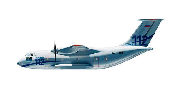 Cамолет Ил-112. Архивное фото