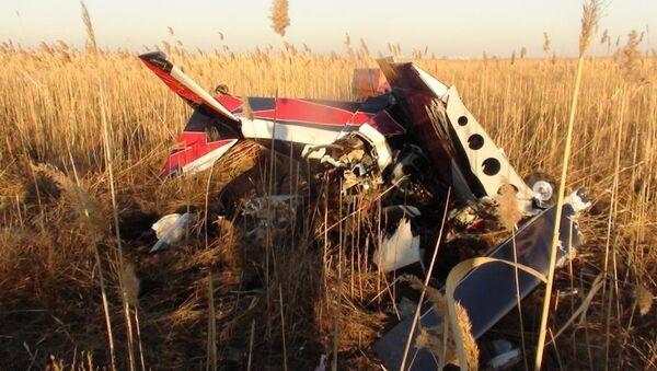 Крушение частного самолета в Ростовской области. Архивное фото