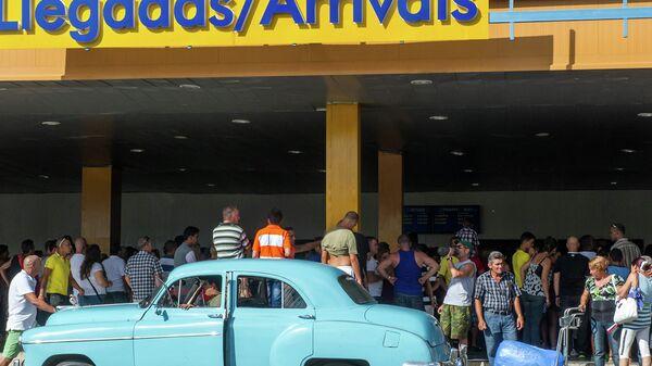 Международный аэропорт Хосе Марти в Гаване, Куба