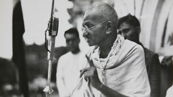 Один из руководителей и идеологов движения за независимость Индии от Великобритании Махатма Ганди