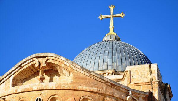 Православная церковь в Иерусалиме. Архивное фото