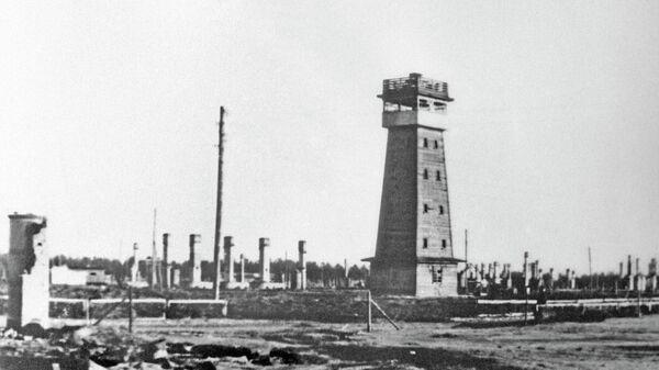 Концлагерь Саласпилс, в котором погибли сотни тысяч рижан и жителей других городов в период фашистской оккупации Латвии