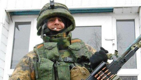 Испанца, воевавший в Донбессе. архивное фото